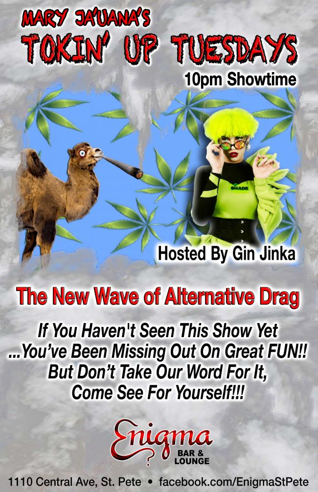 Tokin' Up Tuesdays Show